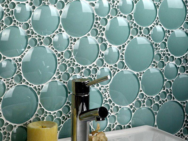 Azulejos Para Baño De Cristal:las características de los diferentes materiales de los azulejos del