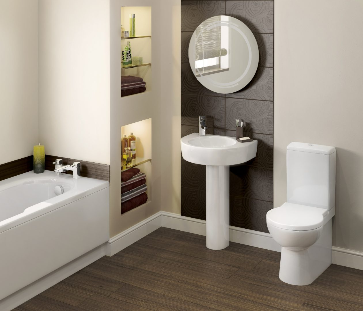 Baño Sucio Feng Shui:Small Bathroom Design Ideas