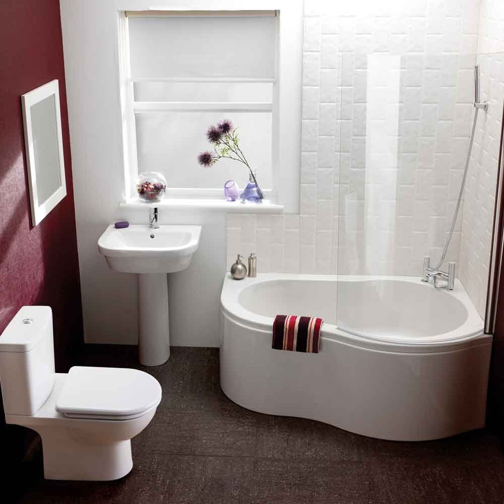 Tinas De Baño Corona:Small Bathroom Tub Shower Combo