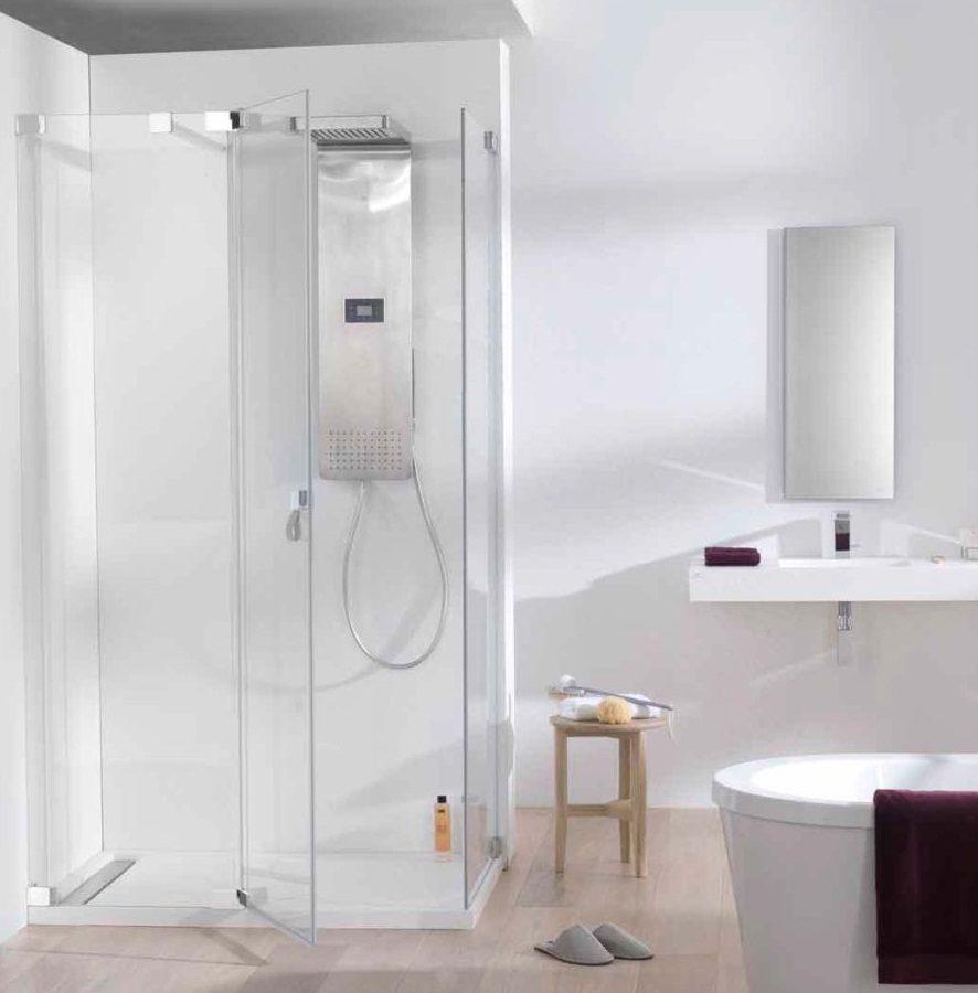 Mamparas para ba o de vidrio - Fotos de mamparas de ducha ...