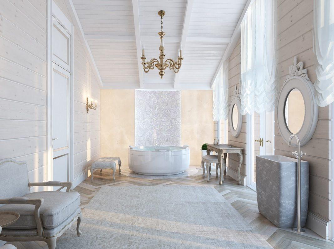 Cuartos de baño románticos