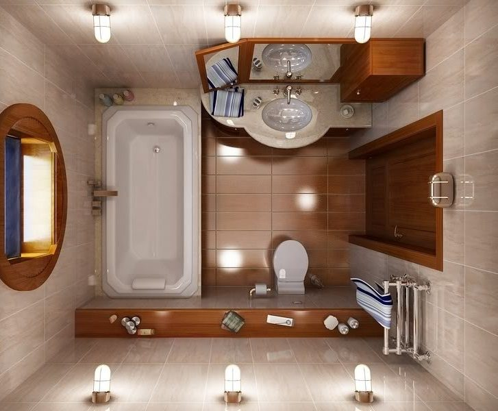 Ideas Baños Rectangulares:Small Bathroom Design Dimensions