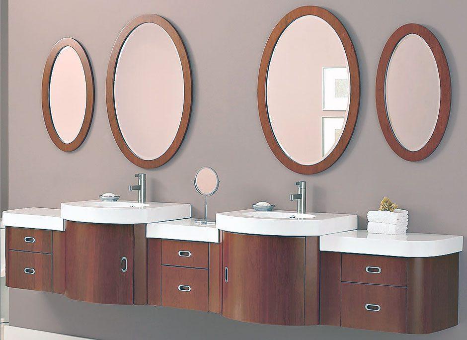 espejos circulares de bao