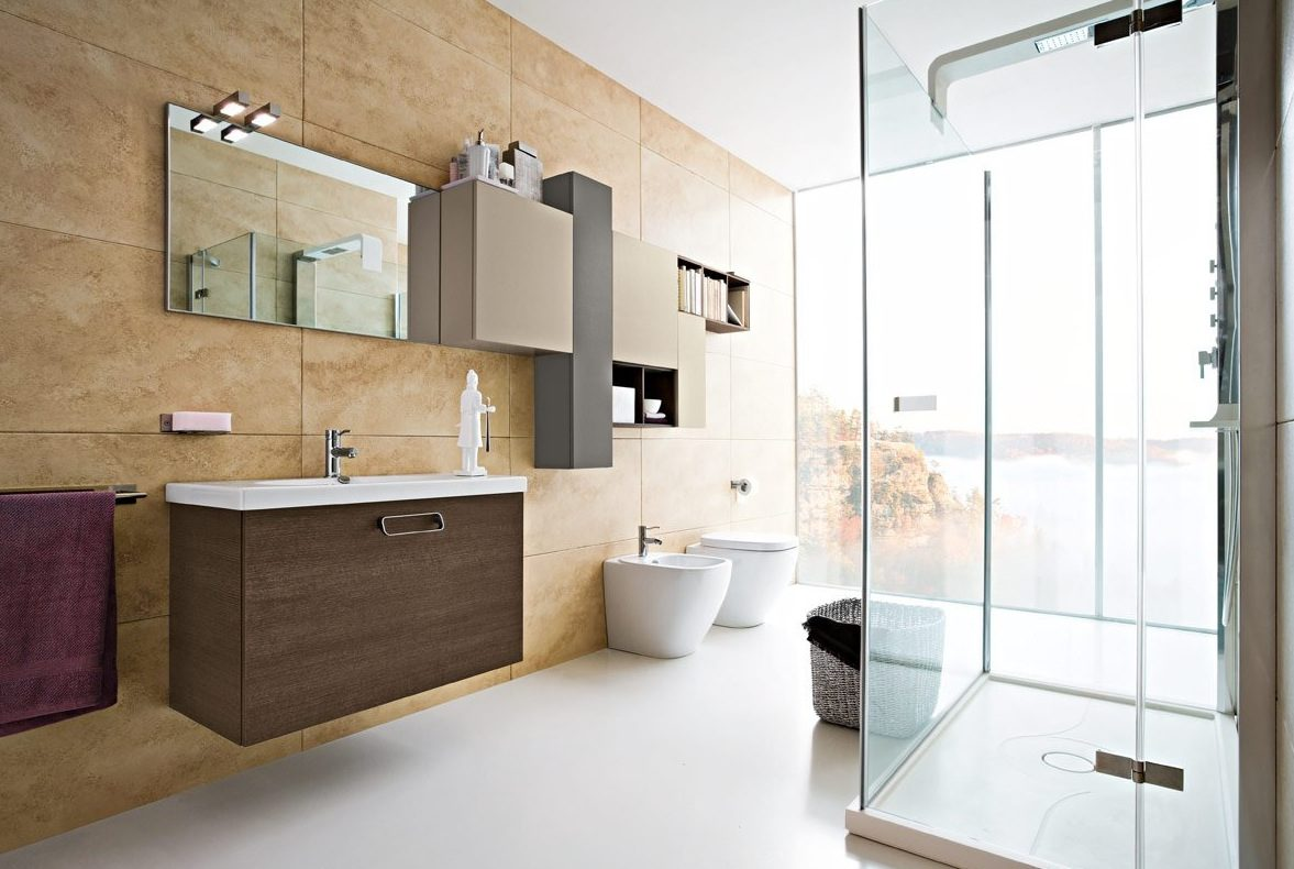 Baños Modernos Iluminacion:Modern Bathroom Design Ideas