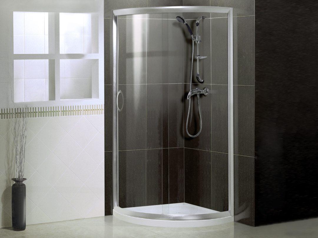 Ba os con ducha semicircular for Esquineras para banos