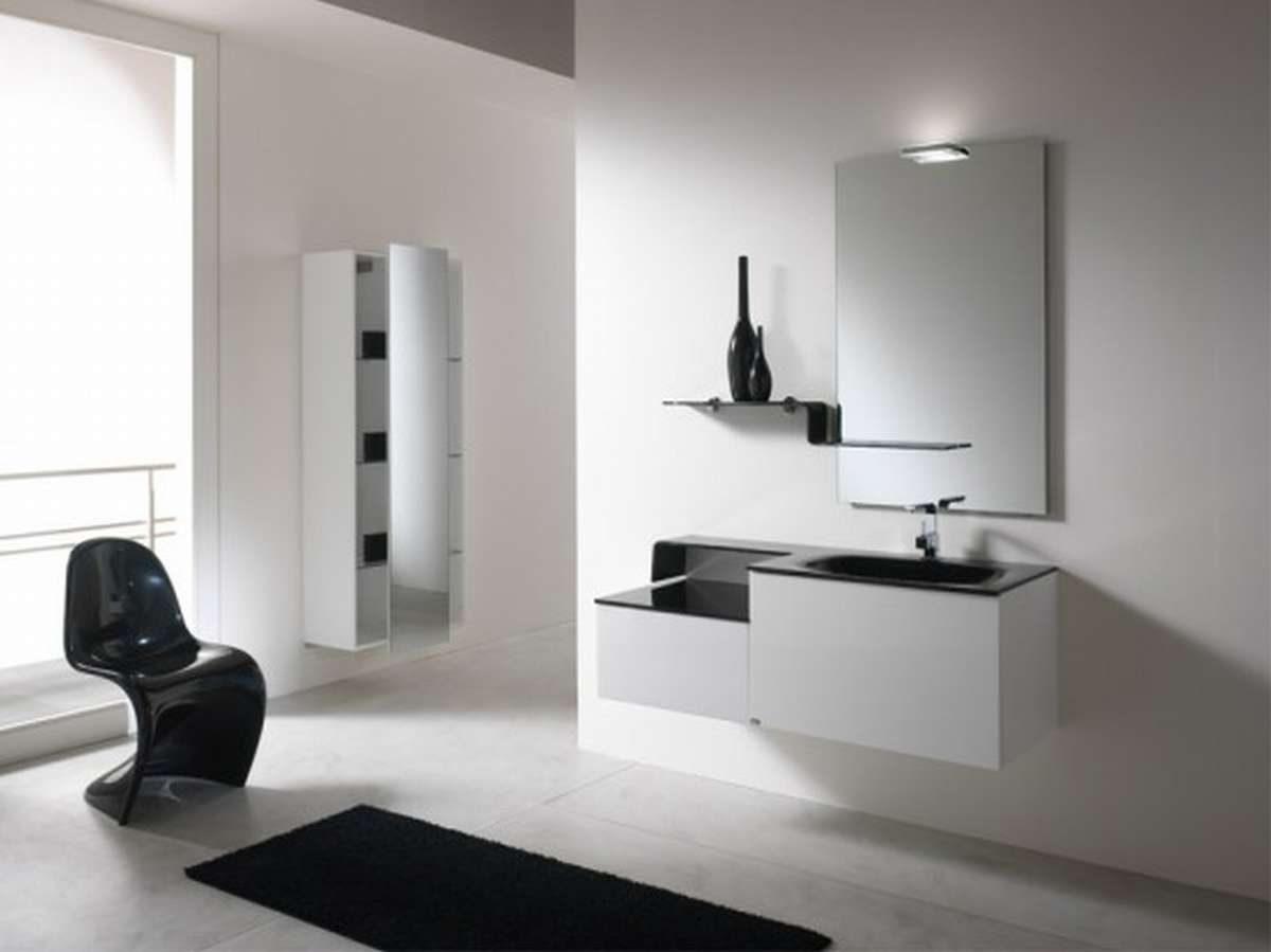 Ideas Baños Minimalistas:Idea Modern Bathroom Cabinet