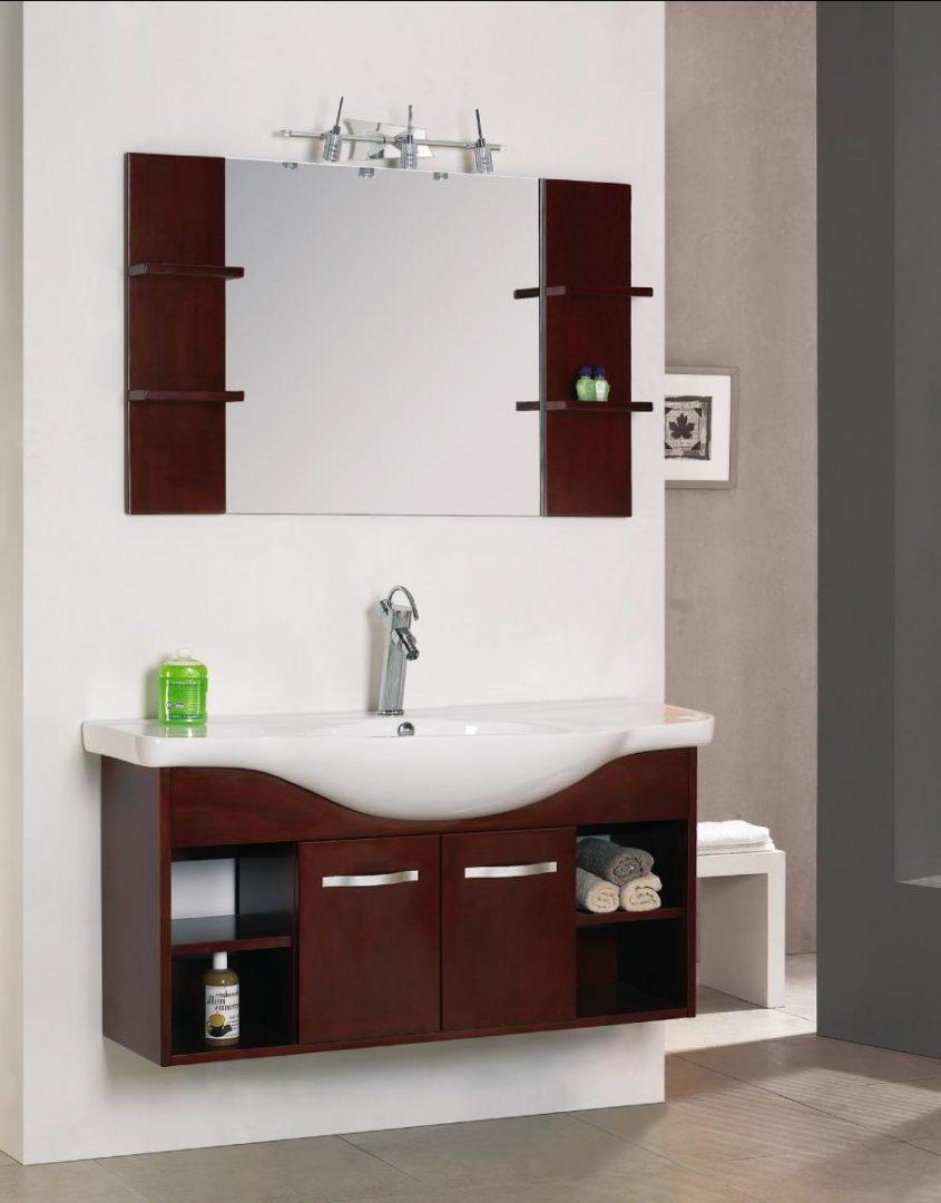 Galer a de im genes decorar el ba o consejos b sicos - Mueble lavabo pequeno ...