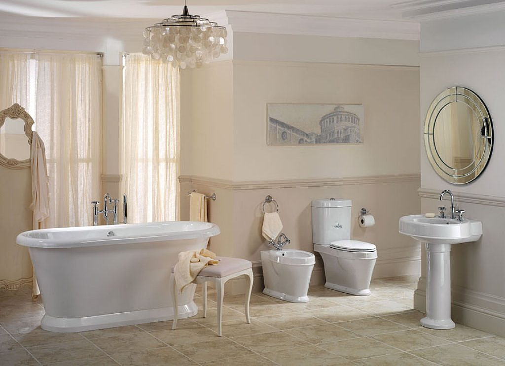 Baño Vintage Pequeno:Vintage Bathroom Ideas