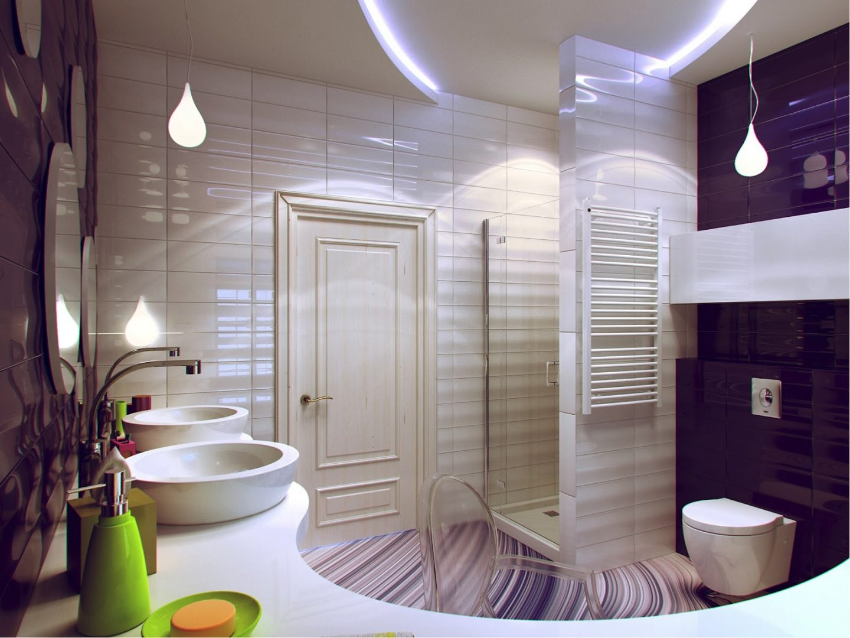 Cuarto de baño de diseño :: Imágenes y fotos
