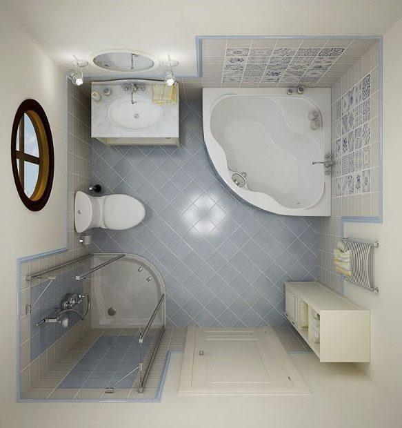 Distribución de un baño pequeño :: Imágenes y fotos
